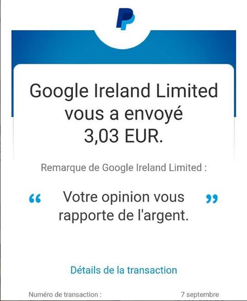 Une application en or pour gagner quelques euros !