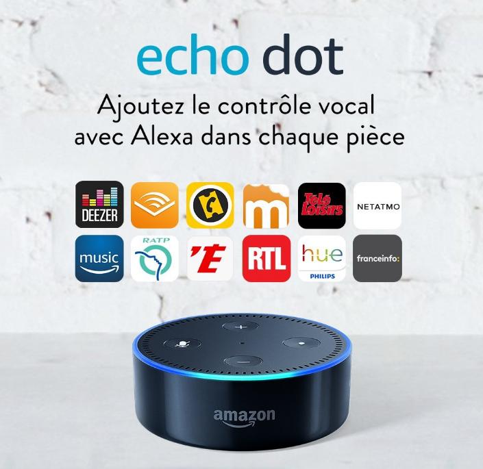 Une enceinte Amazon connectée à petit prix